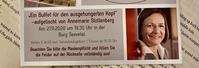 Neuer Termin: Buchvorstellung mit ANNEMARIE STOLTENBERG am 09.04.2021 in der Burg Seevetal NEU: 29.10.2021